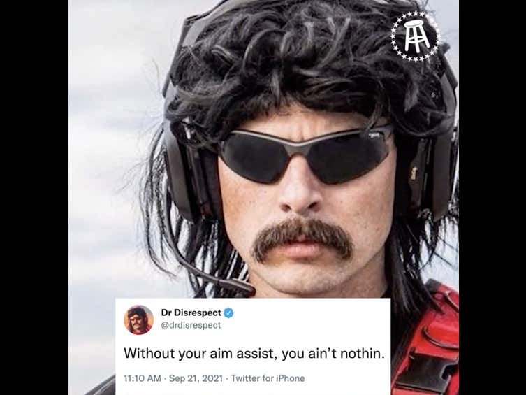 With One Tweet, Dr Disrespect Set The Gaming World Into An Outrage