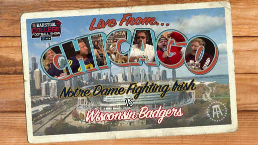 Barstool College Football Show presented by FTX - Week 4 LIVE in Chicago