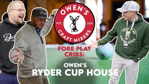 Check Out Our Ryder Cup House Presented By Owens Mixers