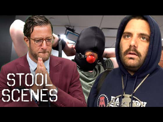 Enraged Jersey Jerry Challenges Ex Barstool Employee to Boxing Match - Stool Scenes 325