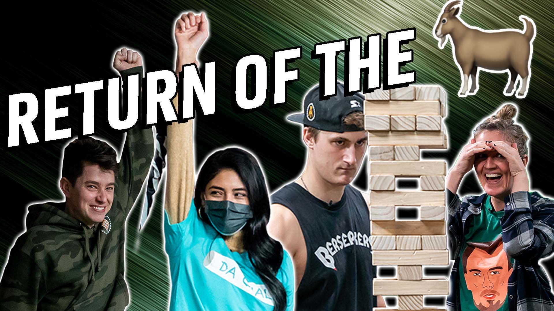 The Goat Returns - Liz Makes Her Return To Stool Streams Against Billy & The Troops