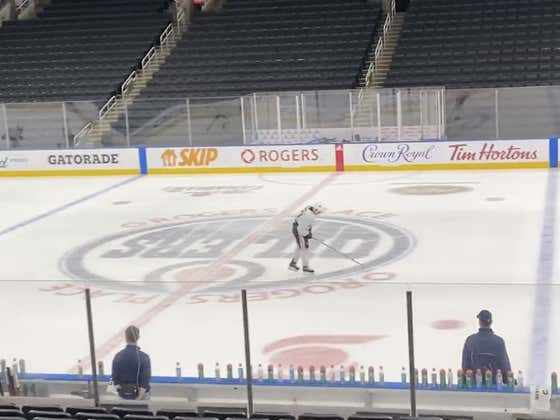 Practicing With Connor McDavid Looks Pretty Dang Miserable