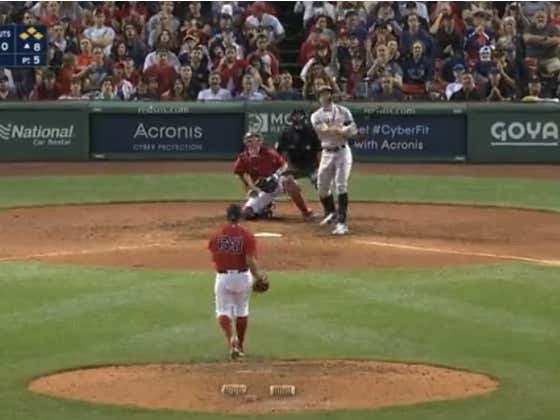 Giancarlo Stanton Saves the Yankees With a Titanic Grand Slam To Beat The Red Sox In Fenway