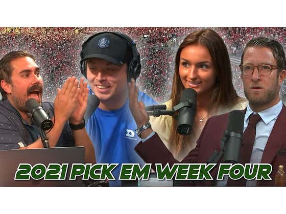 Someone New Debuts in the Host Chair - 2021 Barstool Pick Em Week 4