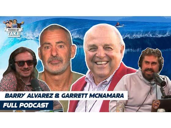 FULL VIDEO EPISODE: Barry Alvarez, Big Wave Surfer Garrett McNamara And NFL Week 3 Preview