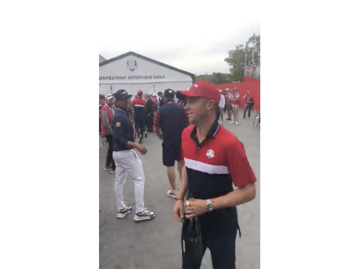 Justin Thomas Just Ended Riggsy Redcoat