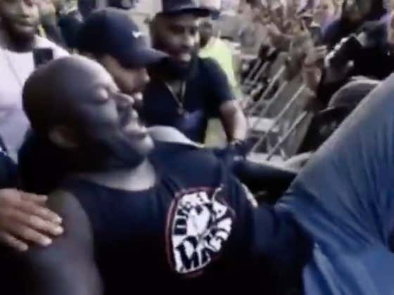 Shaq Diving Into A Crowd And Losing His Mind At Lost Lands Festival Is A Wild Sight To Behold