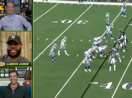 Typical LeBron - Hijacked The ManningCast Just So He Could Throw A High School Teammate Under The Bus On National TV