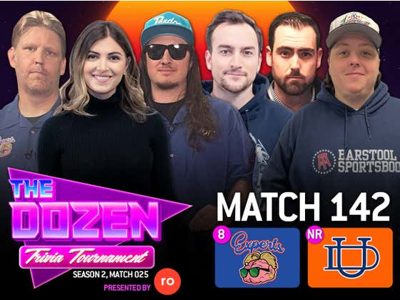 Trivia Experts Look To Win Third Match In A Row (The Dozen pres. by Roman, Match 142)