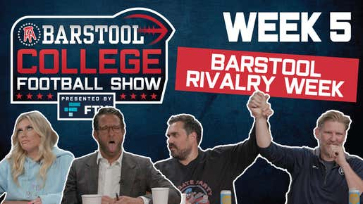 Barstool College Football Show presented by FTX - Week 5