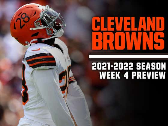 Browns Trying To Start 3-1 In Back-To-Back Seasons For The First Time In 26 Years