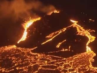 Drone Flies Into Volcano For Insane Video