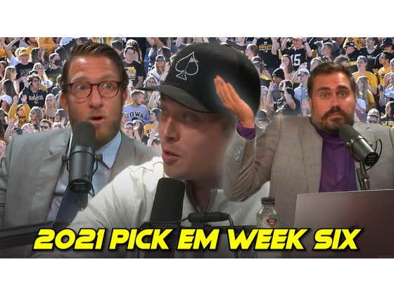 Rico Bosco has BREAKING NEWS | 2021 Pick Em Week 6
