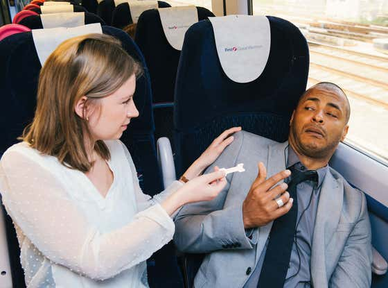 You're Allowed To Wake Up Any Stranger Snoring In Public