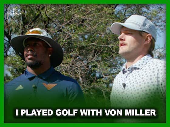 I Golfed with Von Miller