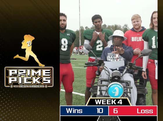 PRIME PICKS | NFL Week 5