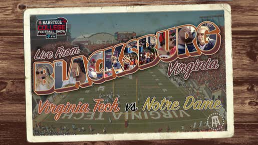 Barstool College Football Show Presented By FTX - Week 6 LIVE from Blacksburg, VA