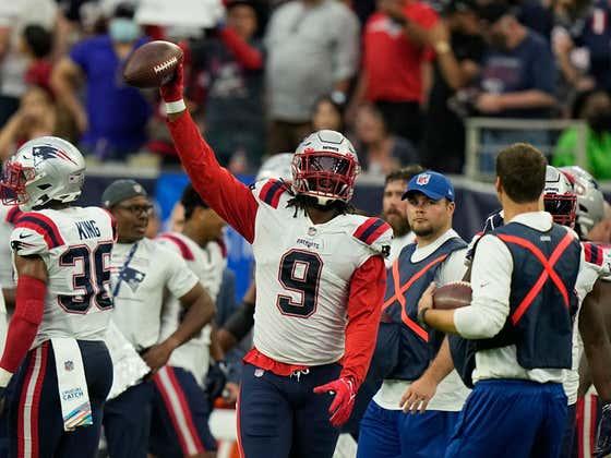 Knee Jerk Reactions to Week 5: Patriots vs. Texans