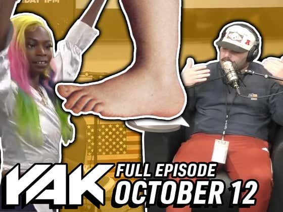 Jersey Jerry Officially Accepts Tiko Texas Into His Foot Fetish Competition | The Yak 10-12-21