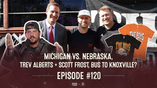 Scott Frost & Trev Alberts Welcome The Boys to Nebraska   Bussin' With The Boys
