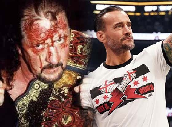 Terry Funk Once Called CM Punk A Pussy & Punched Him In The Face In The Middle Of A Match, And It Was The Honor Of A Lifetime