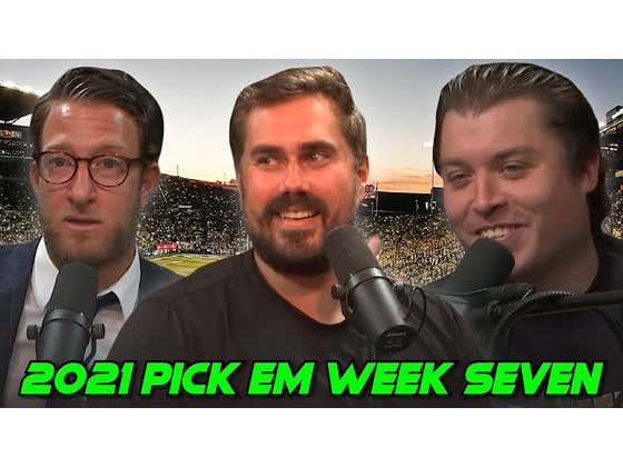 Worst Pick of the Season?   2021 Barstool Pick Em Week 7