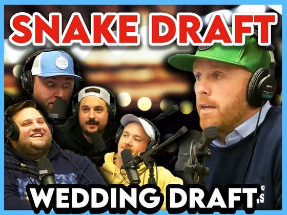 Wedding Draft: Would You Rather Have Whitesoxdave Or Cons At Your Wedding?