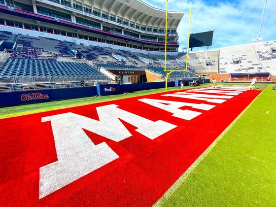 Ole Miss Will Have Arch Manning's Last Name Painted in the End Zones When He Visits This Weekend