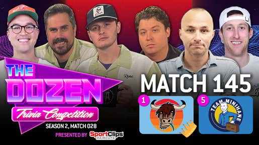 First Battle For Crown As Minihane Challenges Yak For #1 (The Dozen pres. by SportClips, Match 145)