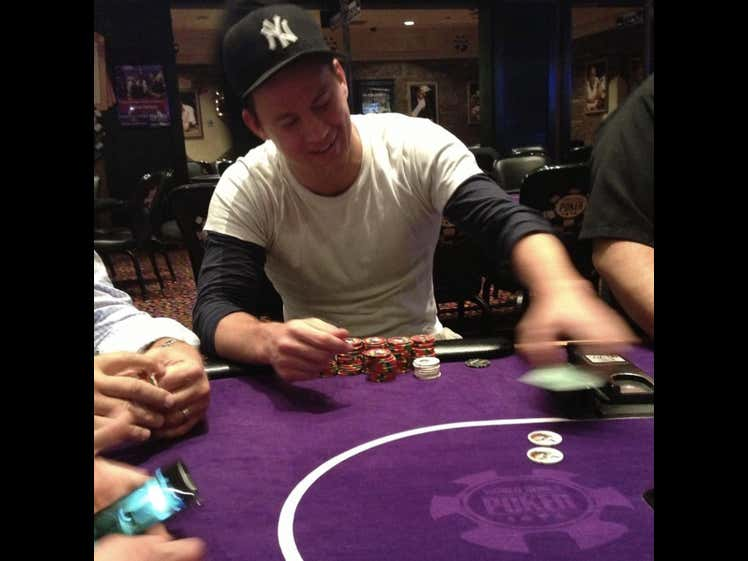 The Destroyer Crushed Channing Tatum in Poker in New Orleans