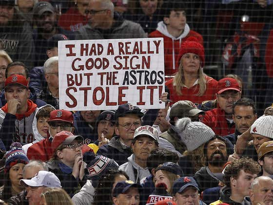 Red Sox Fans are Finding Evidence the Astros are Cheating Again