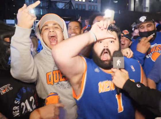 I Will Not Apologize For Knicks Fans Losing Their Minds Outside Of Madison Square Garden Last Night And Acting Like The Knicks Won A Championship