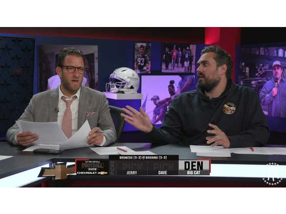 The Pro Football Football Show - Broncos vs. Browns TNF Preview