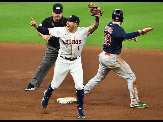 The Red Sox Season Came To A Screeching Halt As The Astros Advance To The World Series
