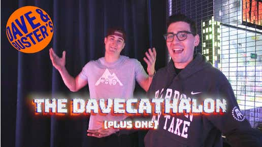 THE FIRST EVER DAVECATHALON