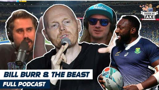 FULL VIDEO EPISODE: Bill Burr, Rugby Legend Tendai Mtawarira, NFL Week 7 Picks And Fyre Fest Of The Week With A Hypothetical Podcast Fight