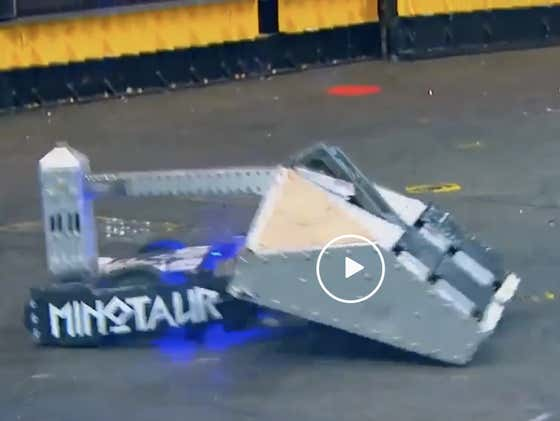 VIDEO: Robot Fighting Has Gone Too Far