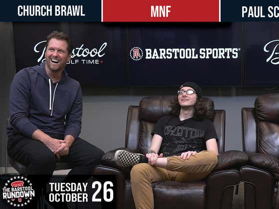 Manchesters Up To No Good - Barstool Rundown - October 26,  2021