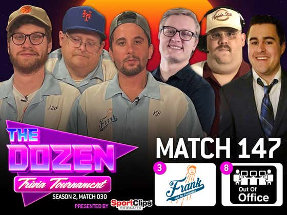 Undefeated Trivia Teams Go Toe-To-Toe In Slugfest (The Dozen pres. by SportClips, Match 147)
