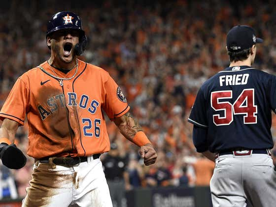 The Astros' Bats Woke Up to Even the World Series at One Win Apiece Headed to Atlanta