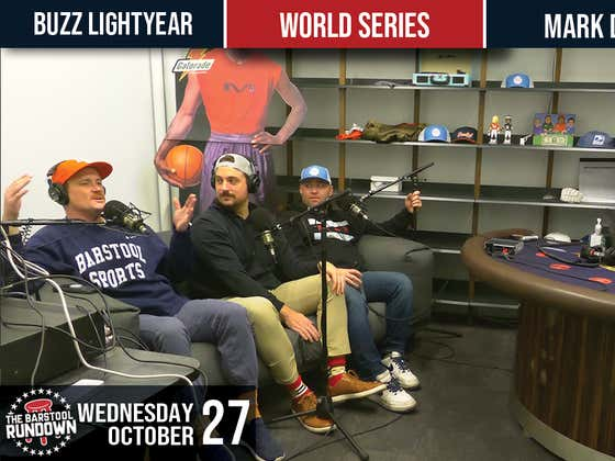 Down With Goodell! - Barstool Rundown Live From Chicago - October 27, 2021