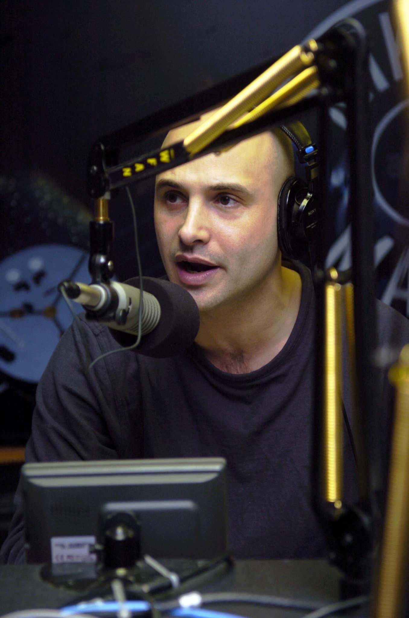 WFAN radio personality Craig Carton...