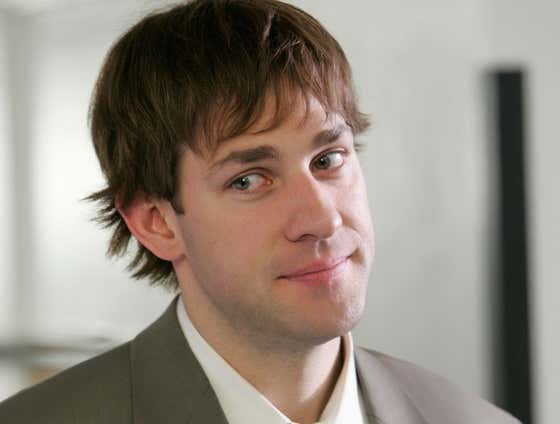 "John Krasinski Secretly Rocked A Wig In ""The Office"" After Cutting His Hair For The Most Important Movie Role Of His Career"