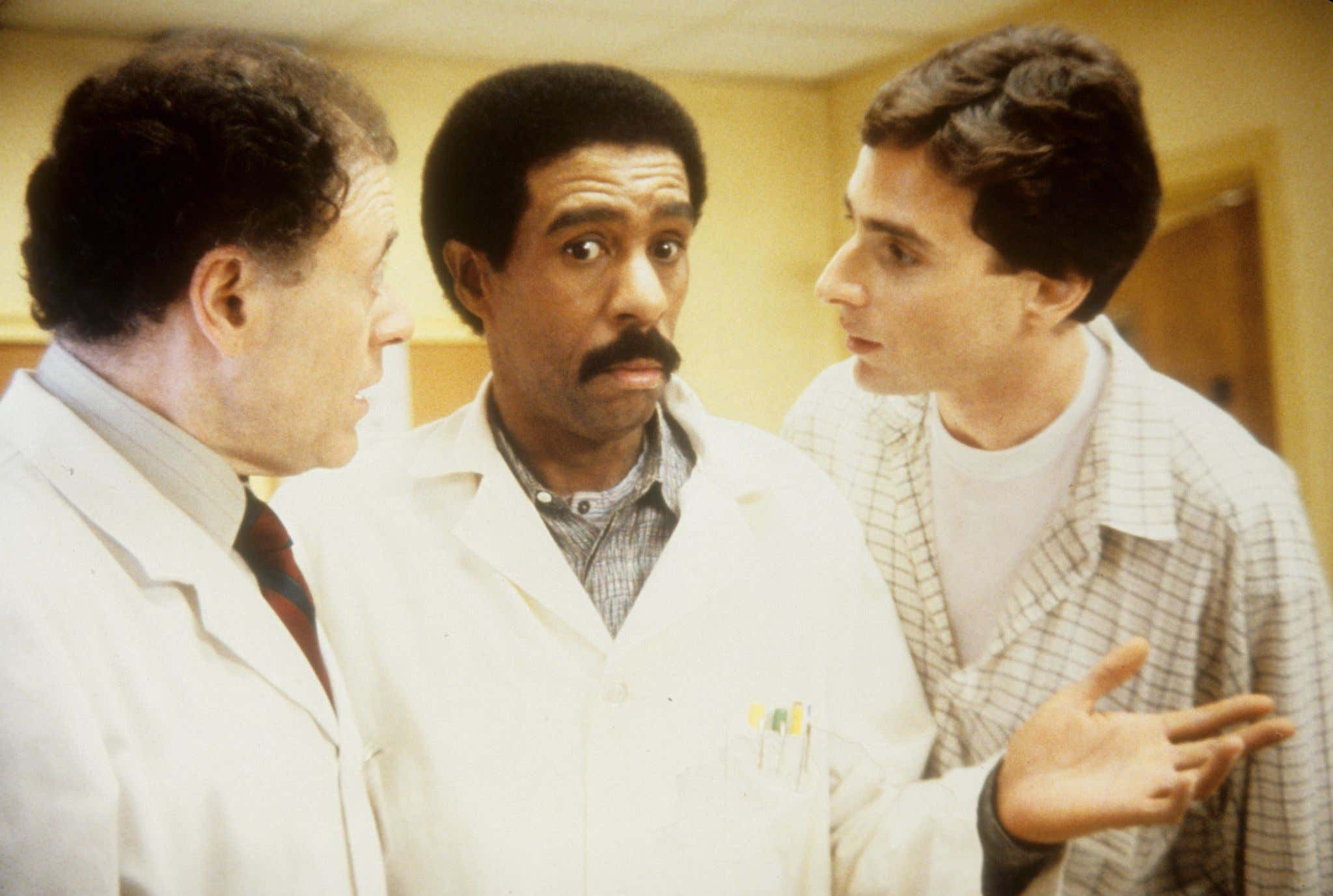 JUNE 16:  Actors Bob Dishy, Richard Pryor and Bob Saget in a scene from the movie