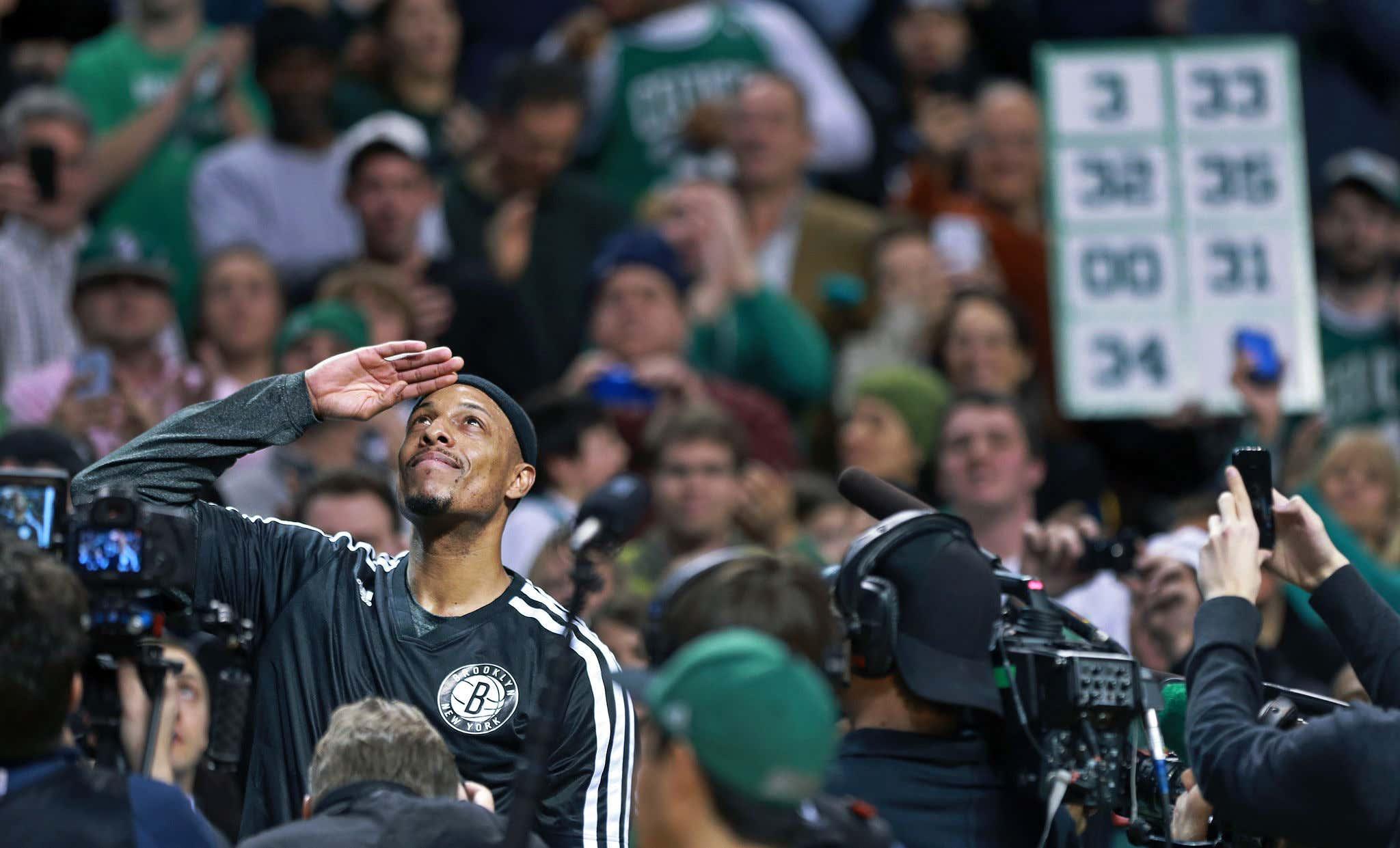 Brooklyn Nets Vs. Boston Celtics At TD Garden