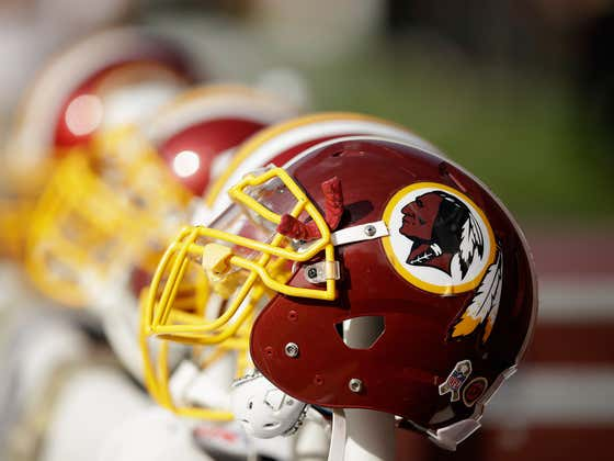 As Of Today, The Washington Redskins Name And Logo Are Officially Being Retired