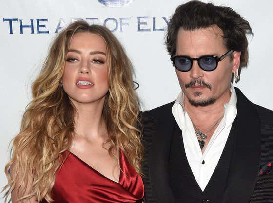 The Drama Continues: Johnny Depp Claims Amber Heard Punched Him In The Face After Learning He Lost $650 Million