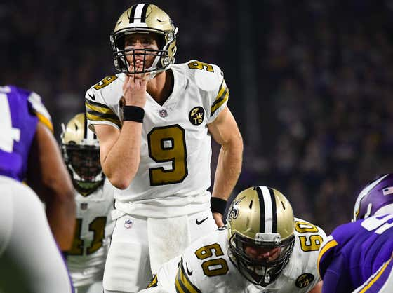 Drew Brees Says He's Trying To Cut Down On The Amount Of Times He Licks His Hands Due To Coronavirus, Which Pretty Much Means The Saints Are Completely Fucked
