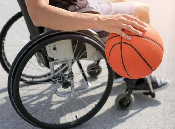 A Wheelchair Basketball Player Is Contemplating Cutting His Leg Off To Continue Playing