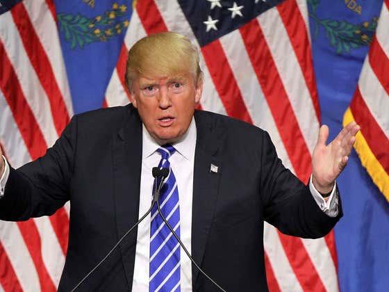 President Trump Lit The Entire Internet On Fire Last Night